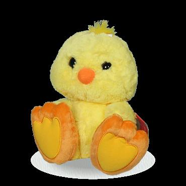 جوجه زرد کاکولی