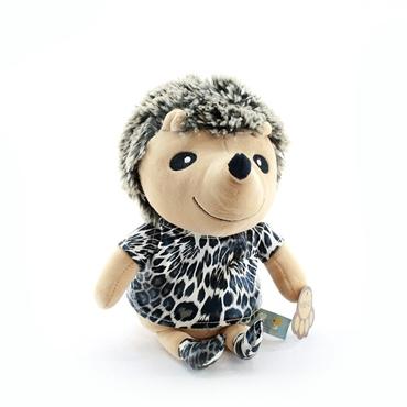عروسک پولیشی خارپشت لباس چرمی