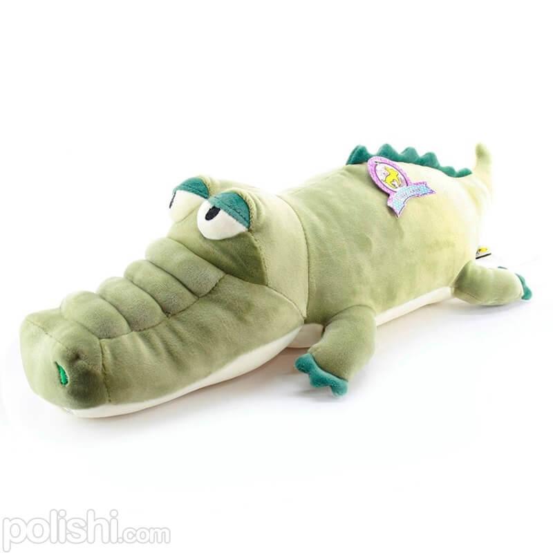 عروسک پولیشی تمساح سبز