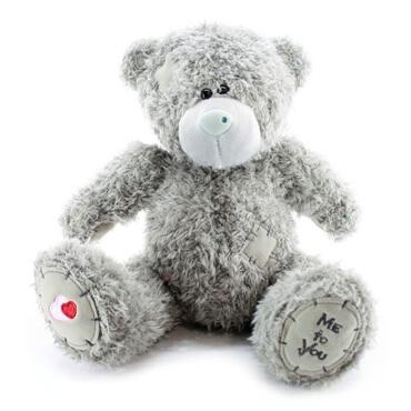 تصویر خرس عروسکی پولیشی Me to you خاکستری