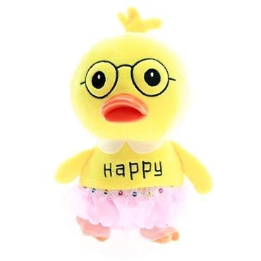 عروسک پولیشی جوجه دختر زرد عینکی