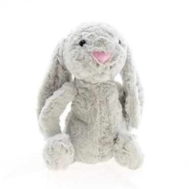 تصویر خرگوش خجالتی نقره ای