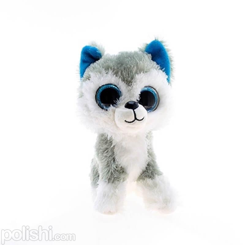 تصویر عروسک TY گربه خاکستری