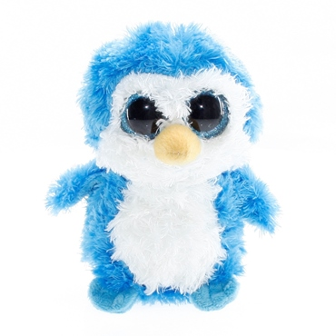 تصویر عروسک بچه پنگوئن چشم تیله ای