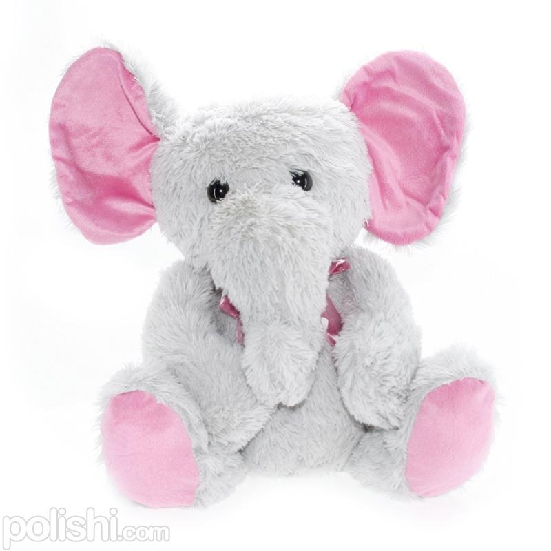 تصویر عروسک بچه فیل پشمالو