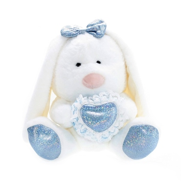 تصویر عروسک خرگوش قلبی