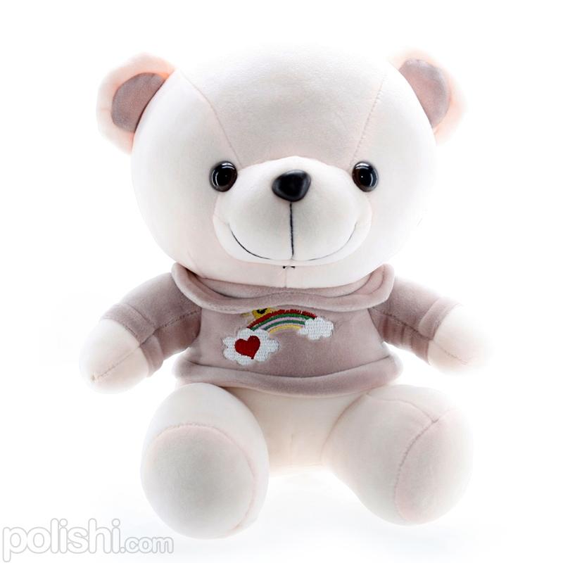 تصویر عروسک خرس رنگین کمان