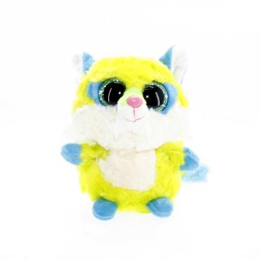 تصویر عروسک بچه گرگ سبز چشم تیله ای TY